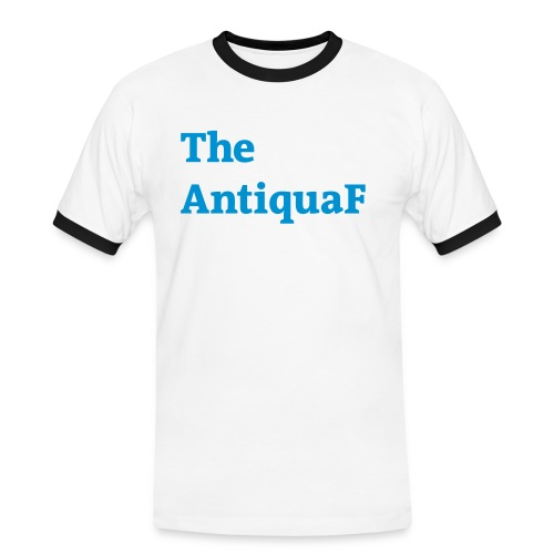 the antiquaf blau - Männer Kontrast-T-Shirt