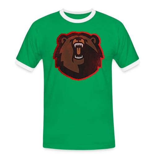 T-shirt - FlaxiZ - Herre kontrast-T-shirt