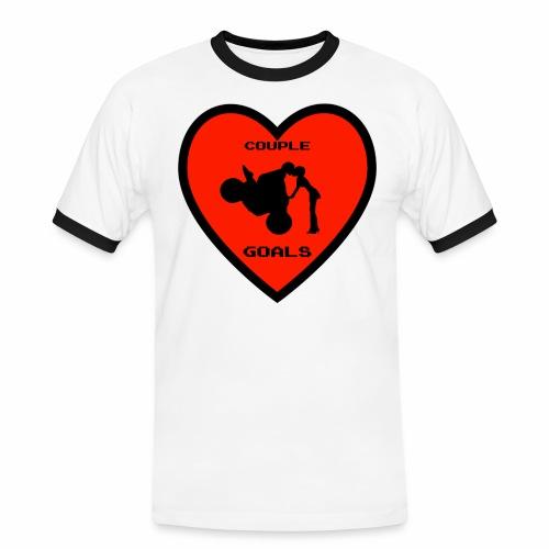 Couple Goals <3 - Maglietta Contrast da uomo
