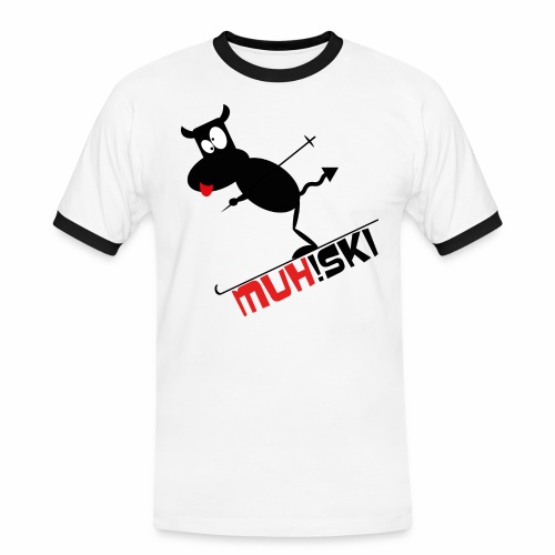 muhski - Männer Kontrast-T-Shirt