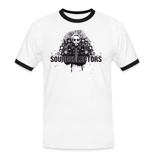 soundselectors - Männer Kontrast-T-Shirt