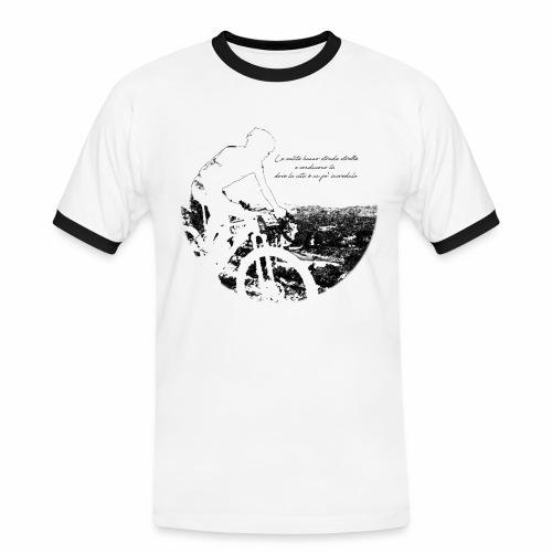 La vita incredula - Maglietta Contrast da uomo