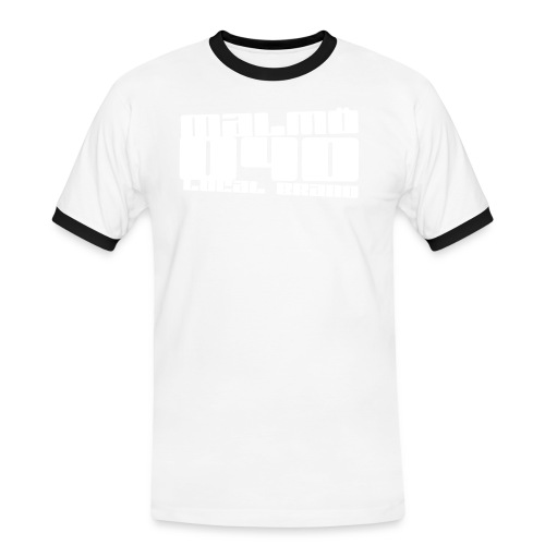malmoe big - Kontrast-T-shirt herr