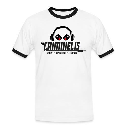 criminelis - Mannen contrastshirt