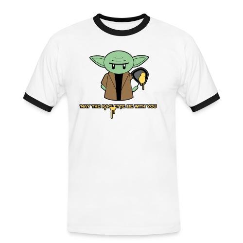 raclette - T-shirt contrasté Homme