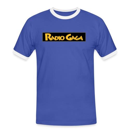 gaga tuner tshirt 3col b - Kontrast-T-skjorte for menn