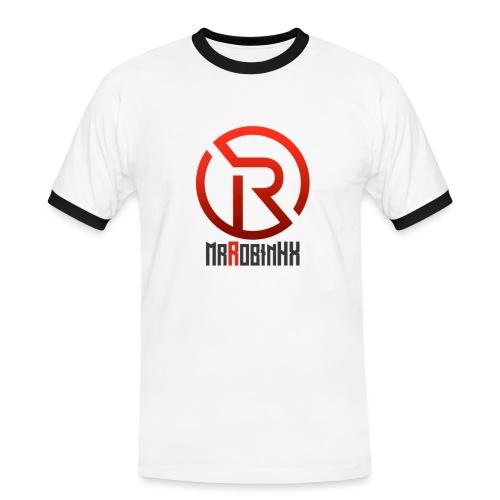MrRobinhx - Kontrast-T-skjorte for menn