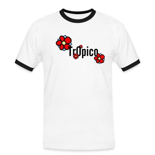 tr0pico - Mannen contrastshirt