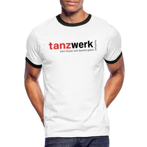 Tanzwerk - Premium Edition schwarz - Männer Kontrast-T-Shirt