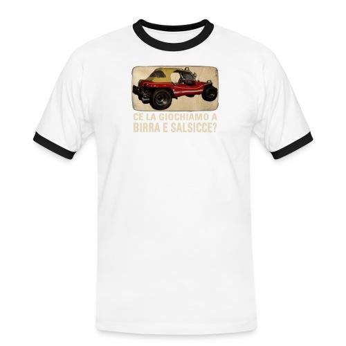 Dune buggy - Maglietta Contrast da uomo