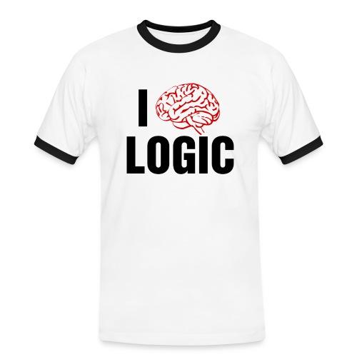 logic - Men's Ringer Shirt