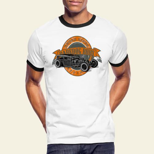 Raredog Rods Logo - Herre kontrast-T-shirt
