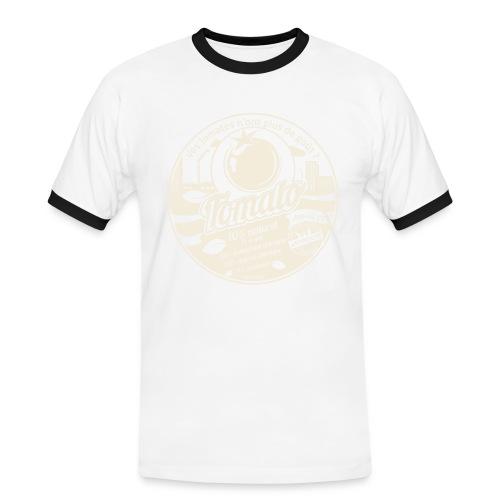 europabio tomato blanc - T-shirt contrasté Homme