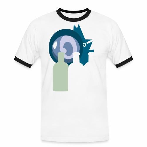 Systembevakningsagenten - Kontrast-T-shirt herr