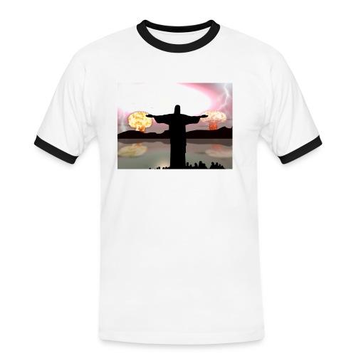Nuclear Jesus T shirt - Men's Ringer Shirt
