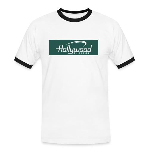 hollywood - Männer Kontrast-T-Shirt