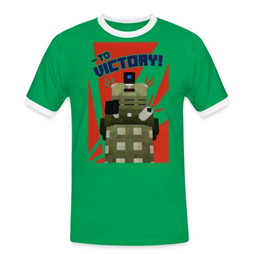 Dalek Mod - To Victory - Men's Ringer Shirt