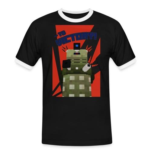 Dalek Mod - To Victory - Men's Ringer Shirt