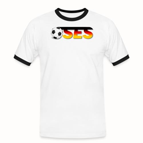 OSES Socker Txt - Männer Kontrast-T-Shirt