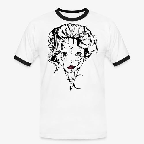 Tendresse maléfique - T-shirt contrasté Homme