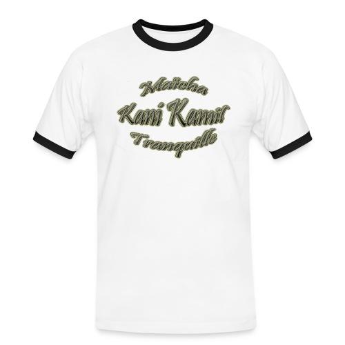 logo mkt 1 - T-shirt contrasté Homme