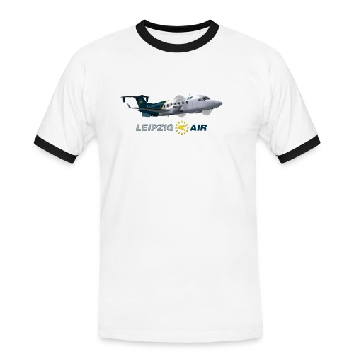 lha b1900 - Männer Kontrast-T-Shirt