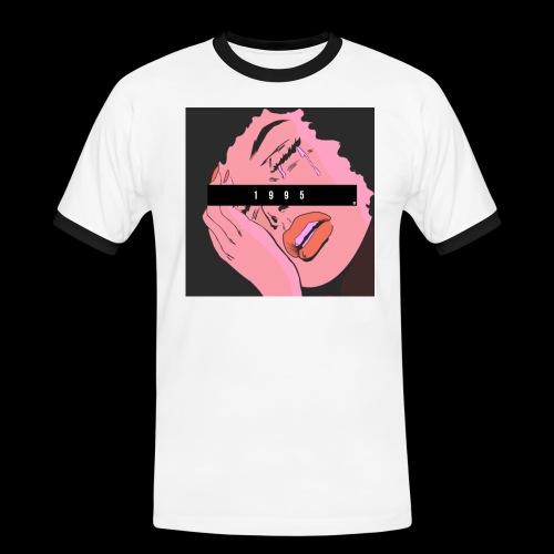 POP ART 1995 - Maglietta Contrast da uomo