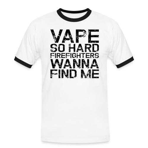 Vape so hard - Men's Ringer Shirt