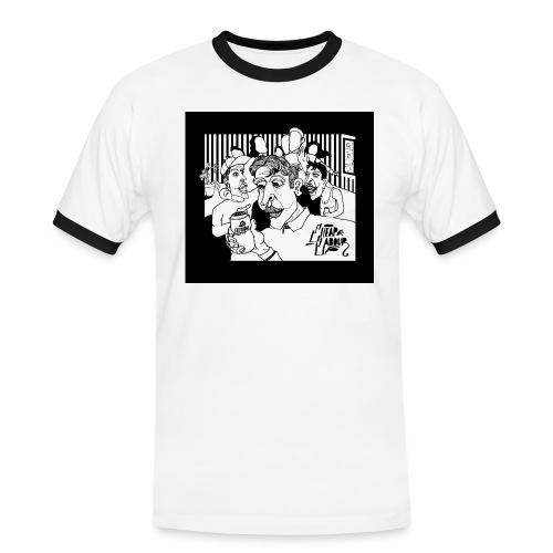 CHEAP LABOUR ALBUM COVER - Kontrast-T-shirt herr
