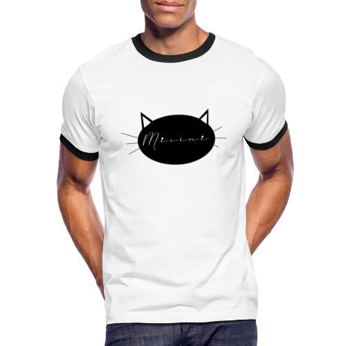 Micini logo - Maglietta Contrast da uomo