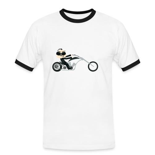 motor - Mannen contrastshirt