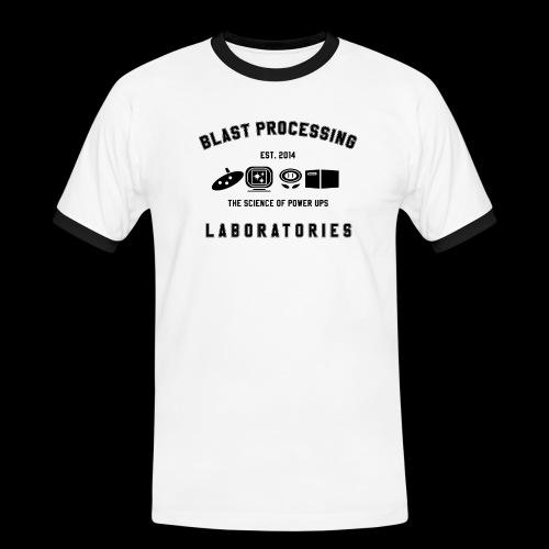 Spreadshirt_Science Of Po - Men's Ringer Shirt