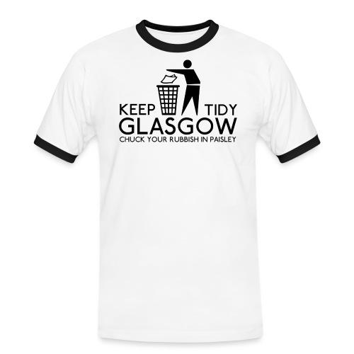 Keep Glasgow Tidy - Men's Ringer Shirt