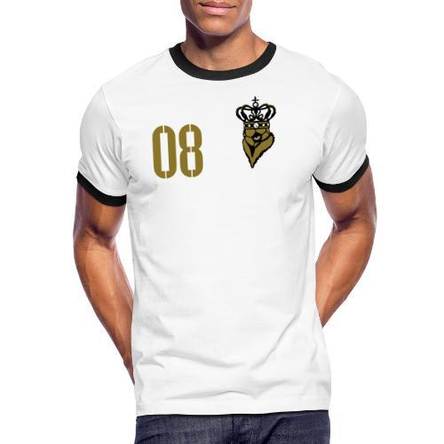 FußballKaiser 08 - Männer Kontrast-T-Shirt