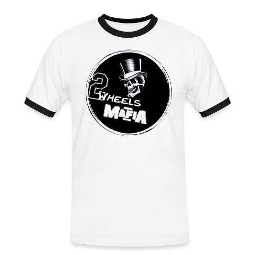 2WheelsMafia - Männer Kontrast-T-Shirt