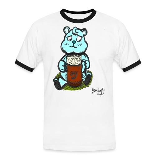 Ours Triste AngelerasCorp - T-shirt contrasté Homme