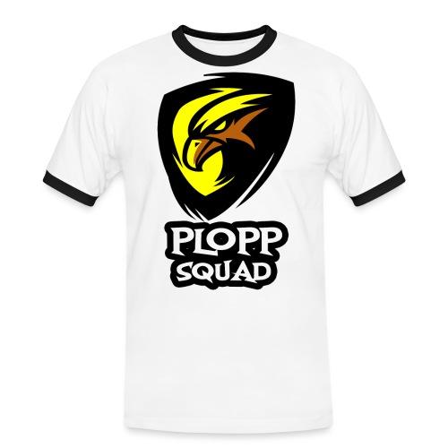 Plopp Squad - Kontrast-T-shirt herr