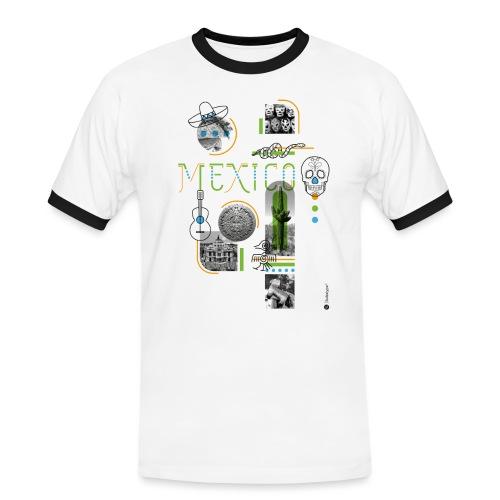 MEXICO - T-shirt contrasté Homme