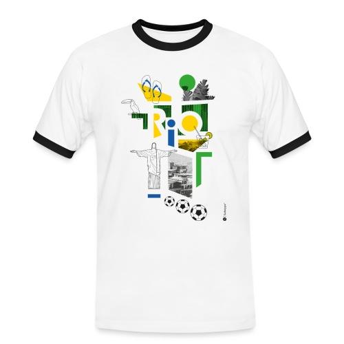 RIO - T-shirt contrasté Homme