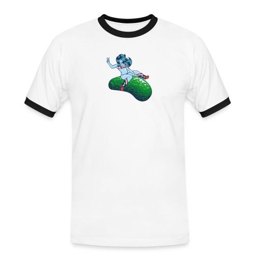 vasteras tshirt - Kontrast-T-shirt herr
