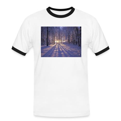 Wintercollectie - Mannen contrastshirt