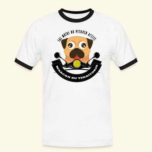 Territorio Perruno - Camiseta contraste hombre