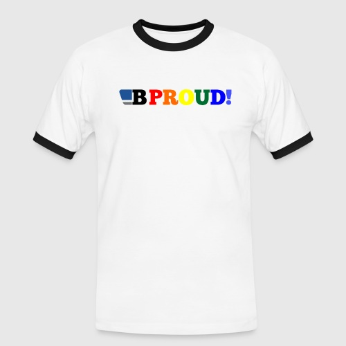 B-ProudrainbowSpread - Men's Ringer Shirt