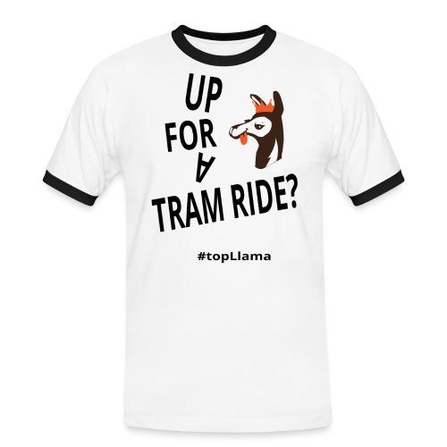 Up for a tram ride - Men's Ringer Shirt
