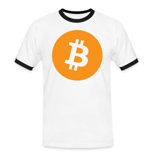Bitcoin boom - Maglietta Contrast da uomo