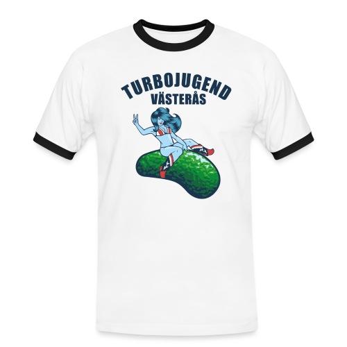 tshirtsolo1 - Kontrast-T-shirt herr