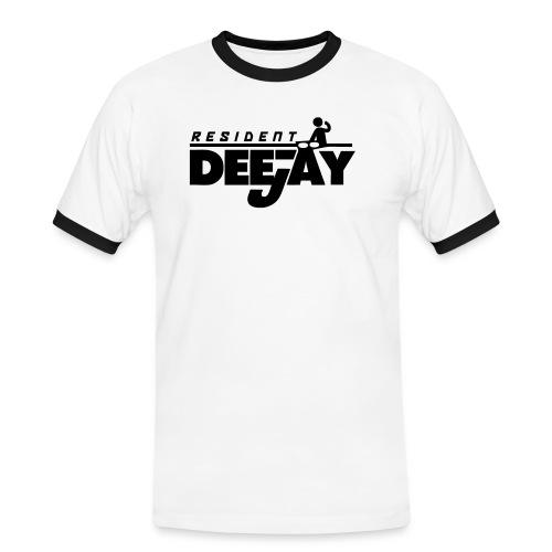 resi2 - Mannen contrastshirt