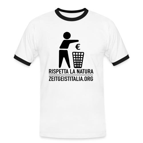 rispettanatura - Maglietta Contrast da uomo