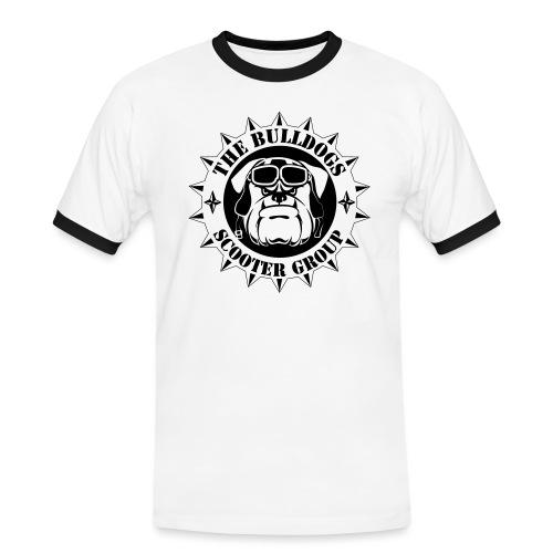 Bulldogs Scooter Group Logo-Black - T-shirt contrasté Homme