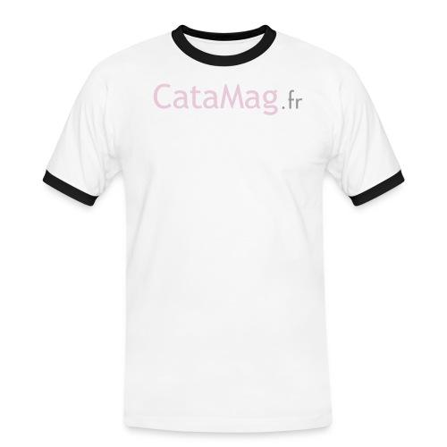 logocatamagfrv - T-shirt contrasté Homme